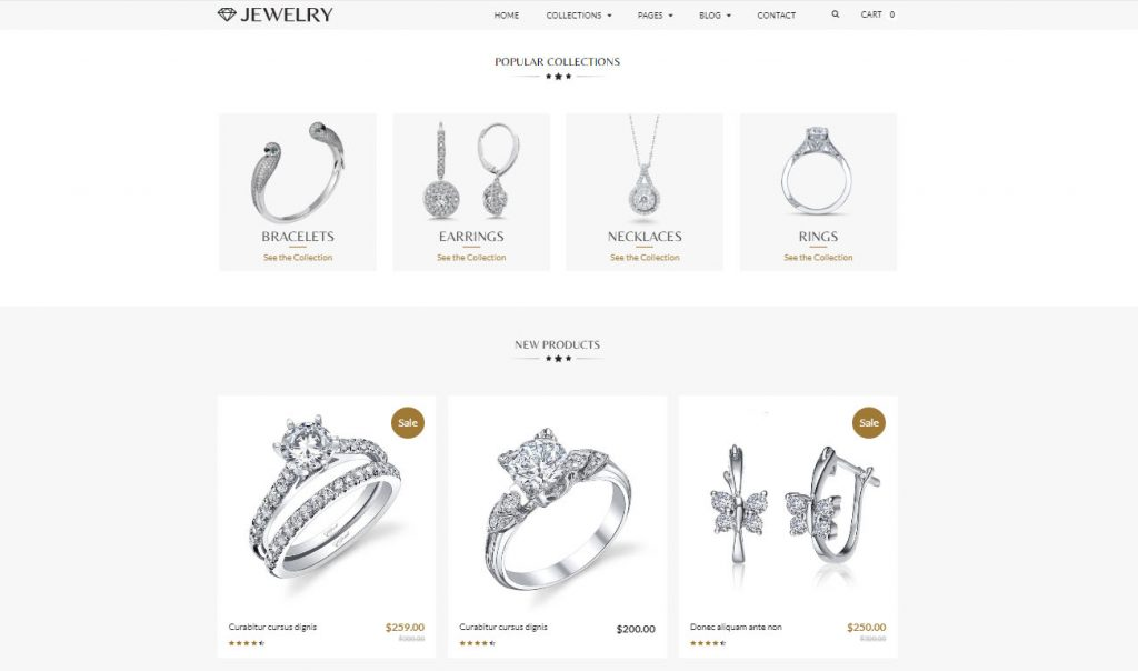 best shopify theme for jewelry